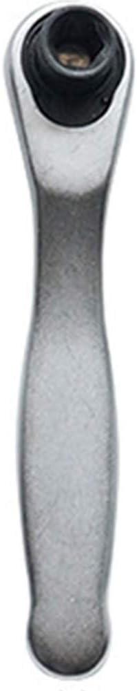 cabeza cuadrada 1//4 manga Llave de carraca llave de carraca r/ápida de dos v/ías 72 dientes destornillador port/átil ranura estrecha para la industria de instalaci/ón de mantenimiento