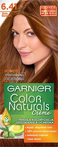 Garnier Color Naturals Haarfärbemittel 6.41 Gold Bernstein 1 Stück
