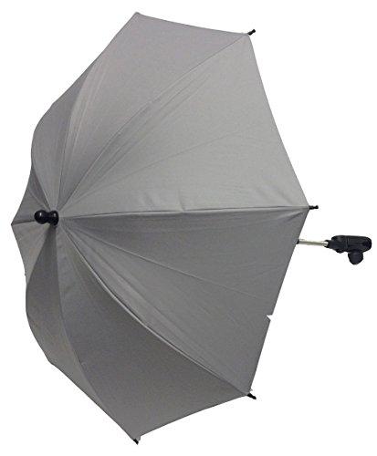 Baby Sonnenschirm kompatibel mit Babylo Laufstall Marco Sky Grau