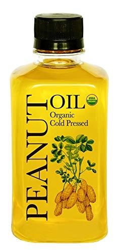 Daana Organic Peanut Oil: COLD PRESSED (12 oz)