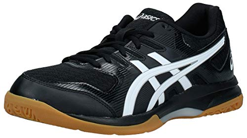 ASICS Mens 1071A030-001_45 Volleyball Shoe, Black, EU