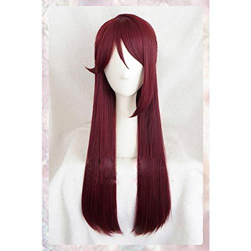¡Peluca de cosplay de alta calidad de Riko Sakurauchi Love Live!¡¡Brillo Solar!!Disfraz Jugar Pelucas Disfraces de Halloween Cabello + gorro de pelucacomo la foto