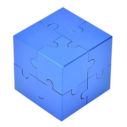 YOUTHINK Infinity Cube Fidget Toy Juguete del Cubo de Rubik Aluminio 3D Cubo Mágico Ensamblar Juguete para Niños Niños Adultos Liberación de Ansiedad Por Estrés