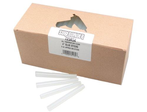 Surebonder 725R54 4-Inch General Purpose All Temperature Glue Sticks
