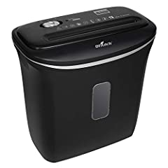 Longer life-span than other models in its class. Large viewing window in bin to see level of shredded paper Easy-lift top with built-in handles Easily shreds credit cards, staples, paper-clips USA based Customer Service and toll free number for any q...