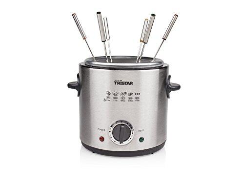 Tristar FO-1102 fondue/friteuse - inhoud 1 liter - thermostaat instelbaar
