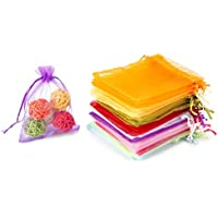 100-Pack Wen Tao Organza Gift Bags
