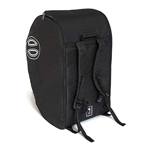 DOONA gepolsterte Reisetasche - Sicherer Transport Babyschale - schwarz