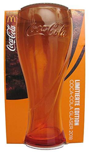 Coca-Cola & MC Donald ́ Edition 2018 – Orange – Verre 0,3 l.