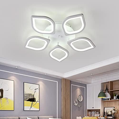 lampadario 5 faretti DAXGD Lampadari moderni a LED in acrilico