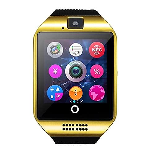 Yuwe DZ09 Reloj Inteligente Bluetooth Pantalla LCD TFT de 1.54 Pulgadas con una resolución de 240 * 240 Pantalla táctil con cámara Tarjeta SIM Ranura para Tarjeta TF/SD para teléfono Reloj de teléfo