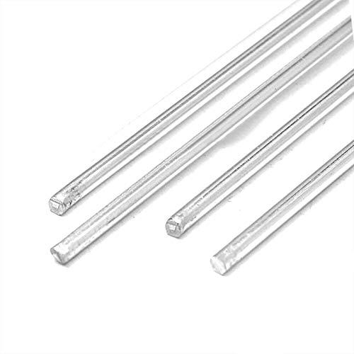 Gfpql WYanHua-Varilla de Soldadura 10pcs Herramienta de Soldadura Profesional de Plata, fácil de fusión de la aplicación de Peso Ligero de Aluminio, 1.6mm de Barra de Soldadura, Soldador para soldar
