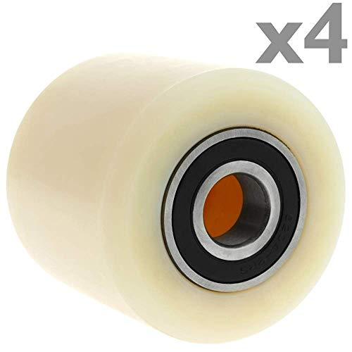 Rueda para transpaleta Rodillo de poliuretano de 200x50 mm 950 Kg PrimeMatik