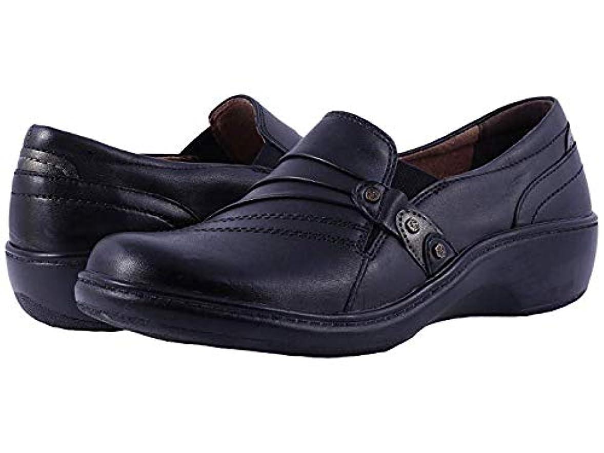 太い連隊確実[ARAVON(アラヴォン)] レディースローファー?靴 Danielle Black (27cm) WW (EE) [並行輸入品]