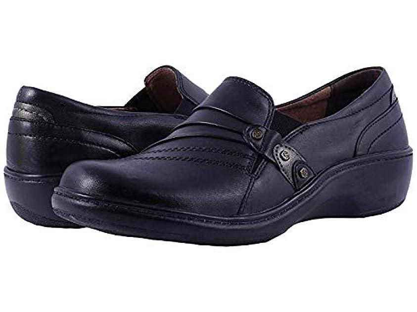 どちらも肝マスク[ARAVON(アラヴォン)] レディースローファー?靴 Danielle Black (26.5cm) WW (EE) [並行輸入品]