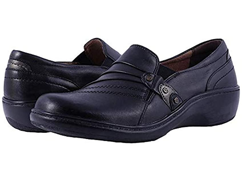 オッズ追い出す任命[ARAVON(アラヴォン)] レディースローファー?靴 Danielle Black (24cm) W (D) [並行輸入品]