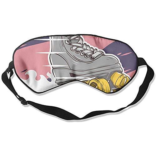 Blindfold,Rollschuh-Augenbinde, Super Smooth Night Sleep Masken Für Schlaf Und Reisen