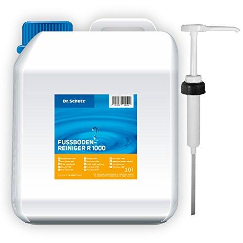Dr Schutz Fussbodenreiniger R 1000 10 Liter inkl. Dosierpumpe