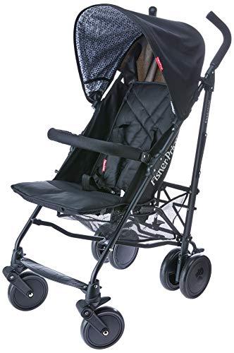 Carrinho de Bebê Guarda Chuva Essential Fisher Price, Multikids Baby, Preto