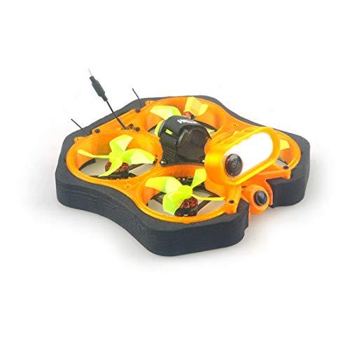 HAPPYMODEL CINE8 85mm Brushless Cinewhoop FPV Racing Drone Kit Fai da Te con EX1202.5 KV8000 MCU aggiornato a EFM8BB21 5.8G 400mw VTX Ant 1200TVL Camera (Internal SPI Frsky RX)