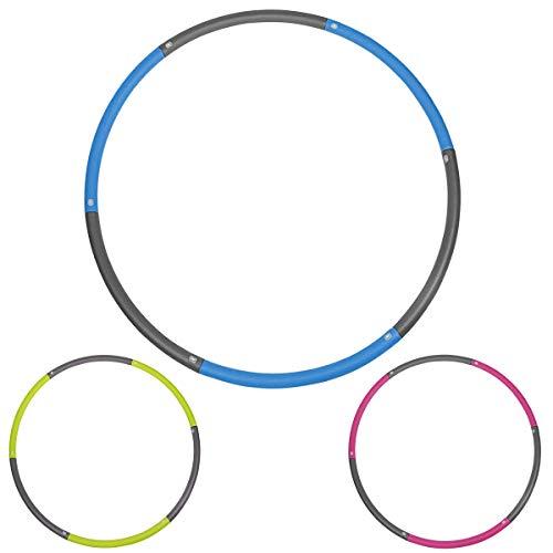Hoola Hoop Reifen Erwachsene und Hulahoop Fitness für Kinder. Hula Hoop Reifen Sport zum Training. Slim Hoop Powerhoop mit Schaumschstoff. (Hula Hoop 1)