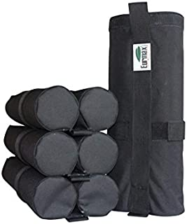 Eurmax Weight Bags for Pop up Canopy Outdoor Shelter,Instant shelter Leg Canopy Weights, Sand Bags, Set of 4