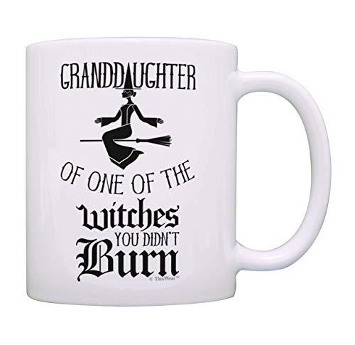 N\A aza de Bruja Taza de café de Las Brujas Que no quemaste Taza de café de Bruja Taza de té Blanco
