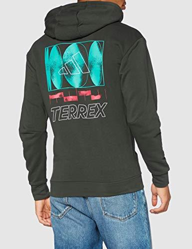 adidas Terrex Logo HD Sudadera, Hombre, tieley, L