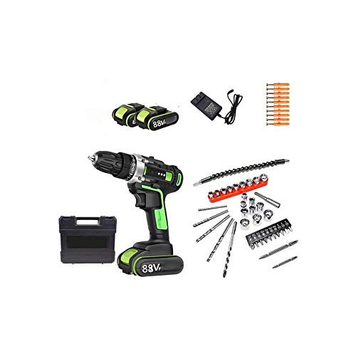 WSMLA Cordless Screwdriver, Electric Screwdriver Rechargeable Set Charger in Carrying Case