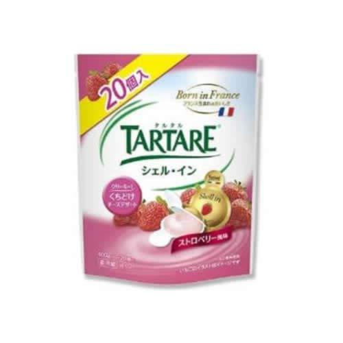 TARTARE シェル・イン クリームチーズ入りデザート ストロベリー風味 400g×2袋セット