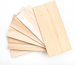 XL Large Cedar Grilling Planks (6 Pack) - 7x15 - Fits Full Filet of Salmon + Free Recipe eBook
