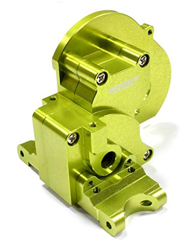Integy RC Model Hop-ups T7983GREEN Alloy Gearbox Housing for Traxxas 1/10 Stampede 2WD, Rustler 2WD & Bandit XL5