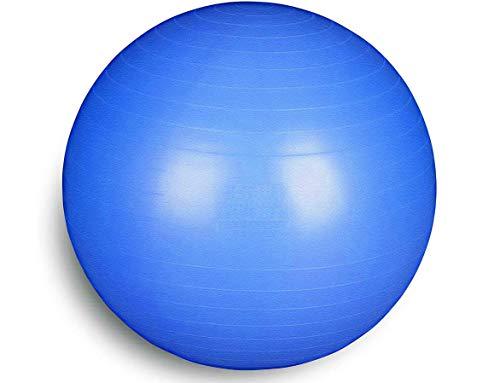 FSTBB95B Total Body Balance Ball | Home Fitness Bigger Fit Ball (Diametro da 55 a 95 cm) per Yoga, Pilates, Palestra | GymBall | Palla Svizzera Anti-Scoppio (95 cm, Blu)