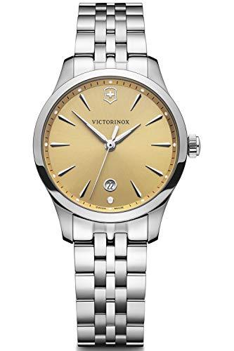 Victorinox Alliance Small Reloj para Mujer Analógico de Cuarzo con Brazalete de Acero Inoxidable V241829