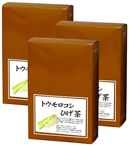 自然健康社 とうもろこしひげ茶 5g×32パック×3個 煮出し用ティーバッグ