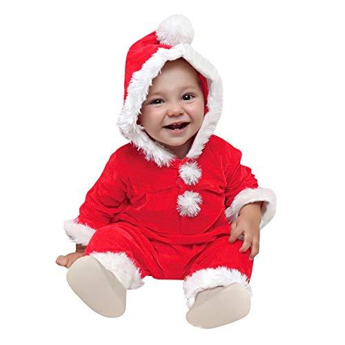 Mono de forro polar con capucha para bebés y niñas