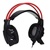 Lazmin Gaming Headset for PS4 PC, Wired HD...