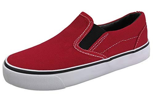 Boy Red Canvas Shoes