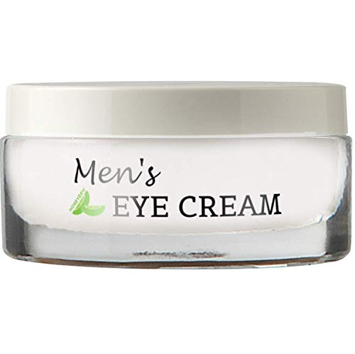 41jtis49FeL - Natural Eye Cream for Men – Best Mens Treatment for Puffiness - Dark Circles and Wrinkles with Calendula and Sesame - Anti Aging Benefits and USA Made