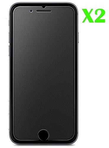 AMBM - Protector de Pantalla Mate para iPhone 6/6S (Cristal Templado, antihuellas,...