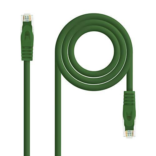 NanoCable 10.20.1803-GR - Cable de Red Ethernet RJ45 LSZH Cat.6A UTP, AWG24,...