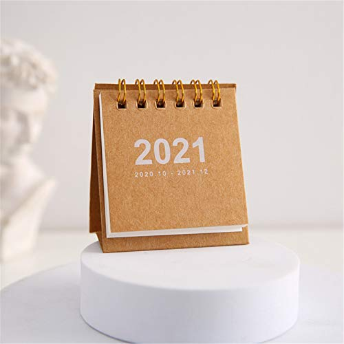 2021 Calendar Desk Calendar Desktop Timetable Convenient and Compact Schedule