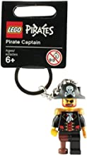 Lego Pirate Captain Keychain