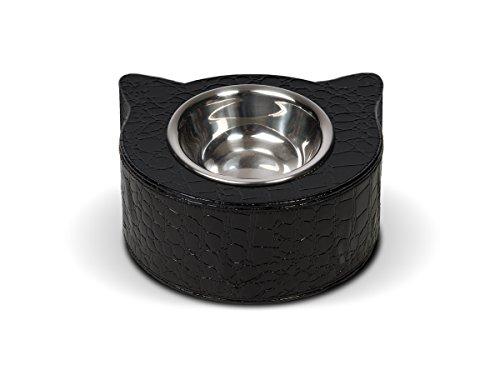 Dogdog Écuelle pour Chat Croco Noir