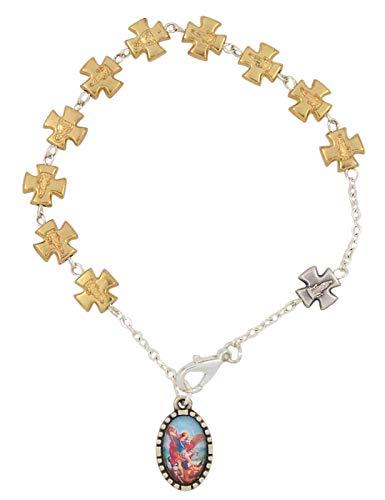 st michael auto rosary - 6