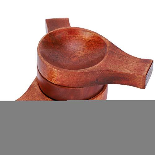 Plato de madera duradero para salsa de estilo japonés, cuenco de inmersión,...