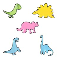 ZSCZQ 漫画動物恐竜金属エナメルブローチかわいいファッションレイドラゴンソードドラゴンボタンピン服バックパックピンバッジジュエリーstyle1