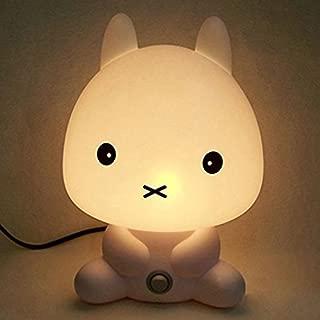 Rabbit Shape Baby Kid Sleeping Bedroom LED Glow Cute Nursery Night Light Desk Table Lamp Travel Essential (Rabbit)