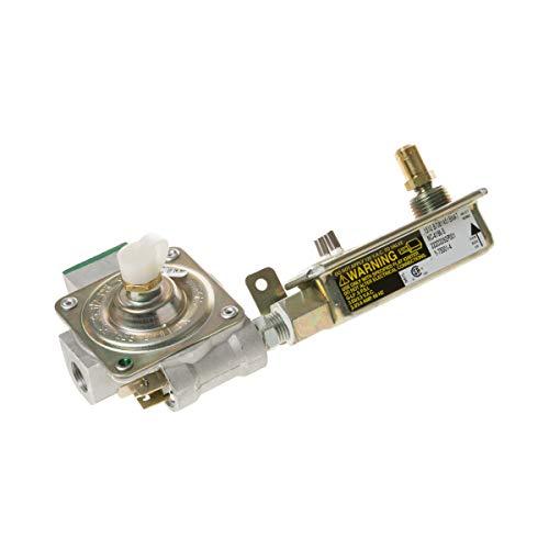 GE WB19K10044 Válvula original OEM y regulador de presión para rango de gas/estufa/hornos GE