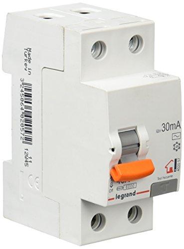 Legrand MagnetDIF.Industria 402057 – Differenziale per abitazione 2/40 / 30 Ma